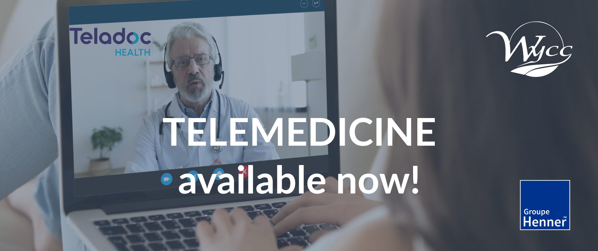 Peace of mind wherever you are with our new telemedicine service